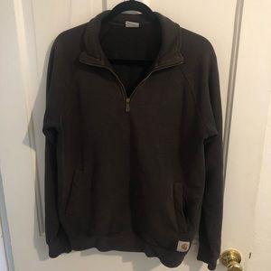 Carharrt 3/4 Zip Sweatshirt